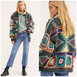 Free People Santa Rosa Crochet Cardigan